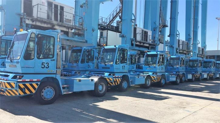 APM Terminals Algeciras increases tractor fleet