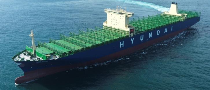 Hyundai Merchant Marine Received A 13 154 Teu Containership